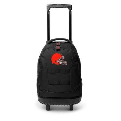 23 in. Cleveland Browns Wheeled Tool Backpack