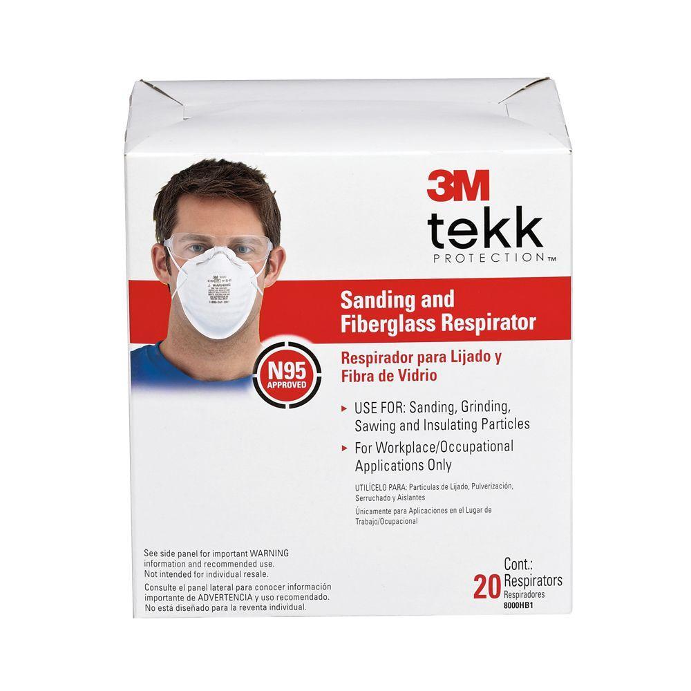 Sanding and Fiberglass Respirator (20-Pack)