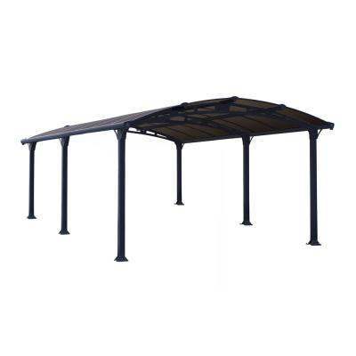 Arcadia 5,000 12 ft. x 16 ft. Carport Car Canopy and Shelter