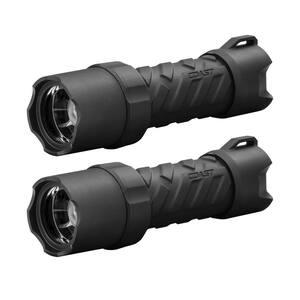 Polysteel 400 Stormproof 440 Lumen Focusing LED Flashlight, 2-Pack