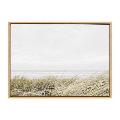 "Sylvie ""East Beach"" by Amy Peterson Art Studio Framed Canvas Wall Art 33 in. x 23 in."