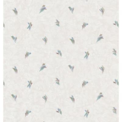 Small Brushstroke Toss Neutral Wallpaper Sample