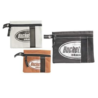 Multi-Color Zipper Tool Bag (3-Pack)