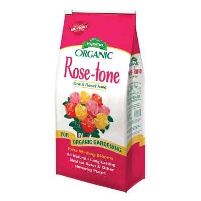 8 lb. Organic Rose Tone Rose Food