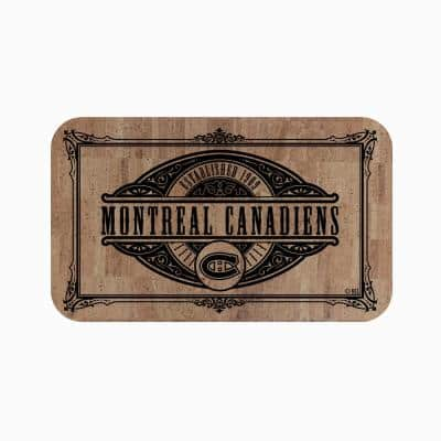 NHL - Montreal Canadiens Cork Comfort Mat 18 in. x 30 in.