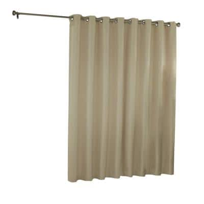 Latte Grommet Blackout Curtain - 100 in. W x 84 in. L