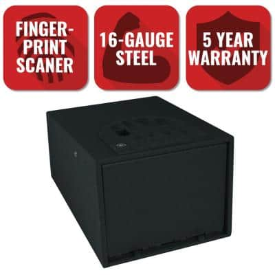 MultiVault Series Biometric Personal Security Handgun Safe with Fingerprint Reader