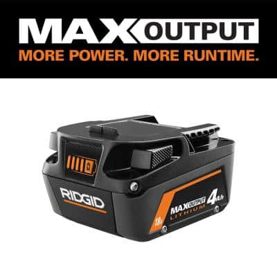 18V 4.0 Ah MAX Output Lithium-Ion Battery