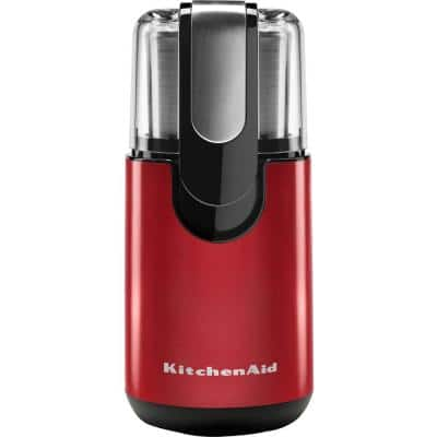 7 oz. Empire Red Coffee Grinder with Stainless Steel Blade