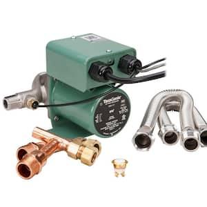 TacoGenie 1/25 HP Hot Water Recirculating Pump with Undersink Kit