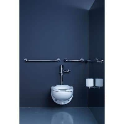 Contemporary 24 in. Grab Bar in Polished Stainless Steel