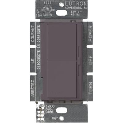 Diva 1.5 Amp Single-Pole/3-Way 3-Speed Fan Control, Plum