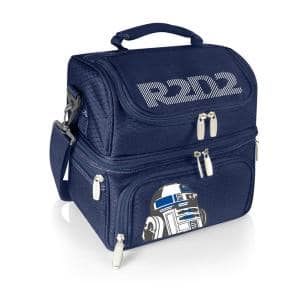 3 Qt. 8-Can R2-D2 Pranzo Lunch Tote Cooler in Navy