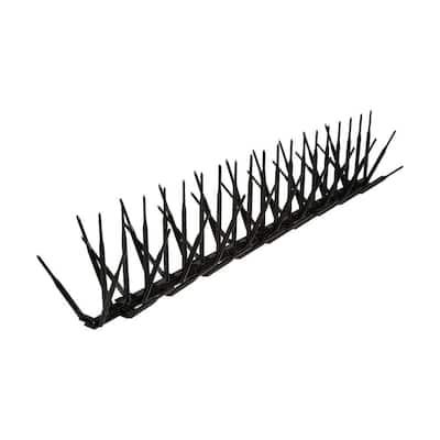 100 ft. x 7 in. Black Plastic Bird Spike