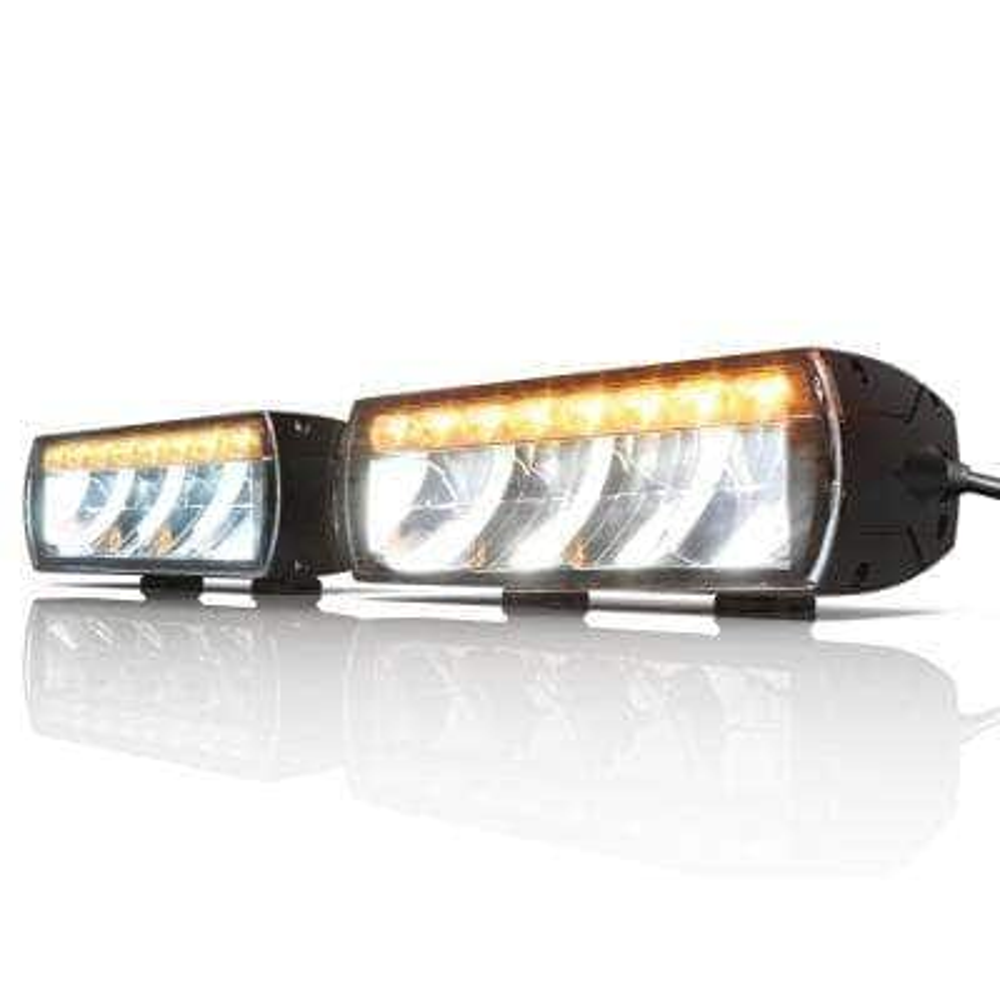 DOT Approved Heated Lens LED Snowplow/Driving Light