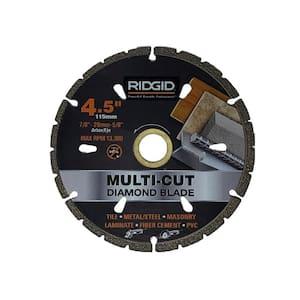 4.5 in. Diamond Multi-Cutting Blade