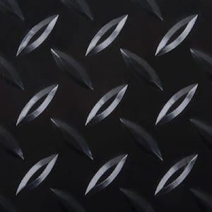 7.5 ft. x 14 ft. Diamond Black Universal Flooring