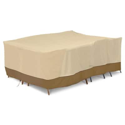 Veranda 140 in. L x 70 in. D x 35 in. H Full Coverage General Purpose Patio Furniture Cover