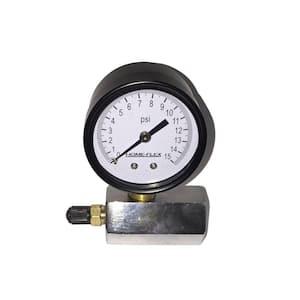 15 psi Pressure Test Gauge