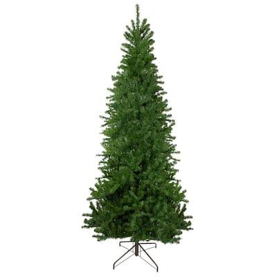 9 ft. Unlit Canadian Pine Artificial Pencil Christmas Tree
