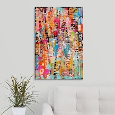 """""""Metromix XXVII"""" by Erin Ashley Canvas Wall Art"""