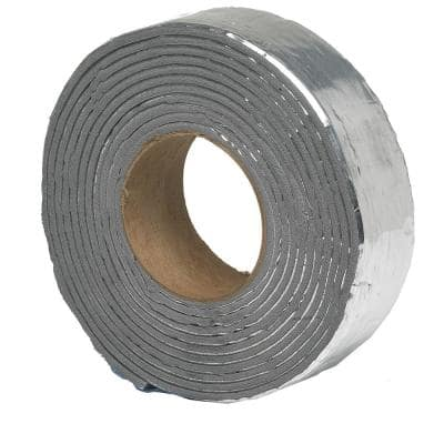 2 in. x 15 ft. Foam and Foil Pipe Wrap Insulation Tape