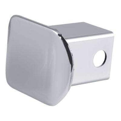 """2"""" Chrome Plastic Hitch Tube Cover (Packaged)"""