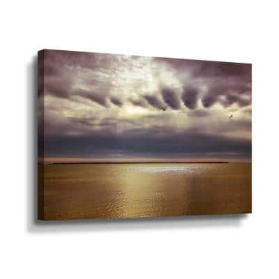 To face this day' by Eunika rogers Canvas Wall Art