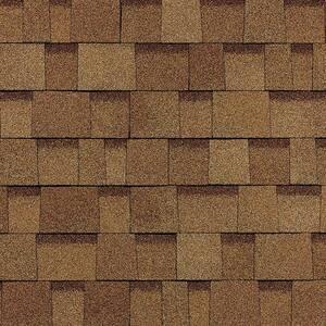 Oakridge Desert Tan Laminate Architectural Roofing Shingles (32.8 sq. ft. per Bundle)