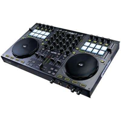 4-Channel Virtual DJ Controller