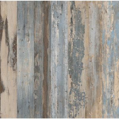 Gallery Oak Sea 6 in. Wide x 36 in. Length Luxury Vinyl Plank Peel and Stick Wall (18 sq. ft./Case)