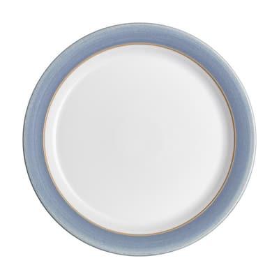 Natural Denim Dinner Plate
