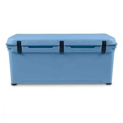 27 Gal. 130-Can 123 High Performance Molded Cooler, Arctic Blue (2-Pack)