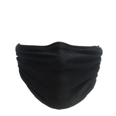 Multipurpose Washable/Reusable Dust, Pollen and Germ Mask - Black