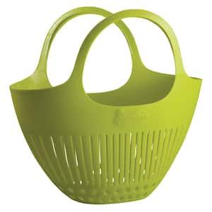 Garden Colander Harvest Basket in Green