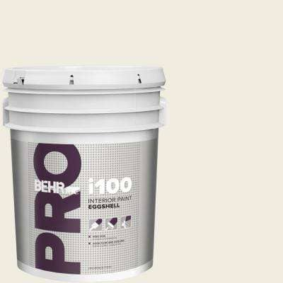 Behr Pro 5 Gal Yl W05 Swiss Coffee Eggshell Interior Paint Pr13005 The Home Depot
