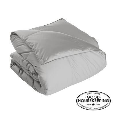 Alberta Light Warmth Platinum Full Euro Down Comforter
