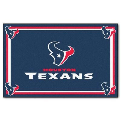 Houston Texans 4 ft. x 6 ft. Area Rug