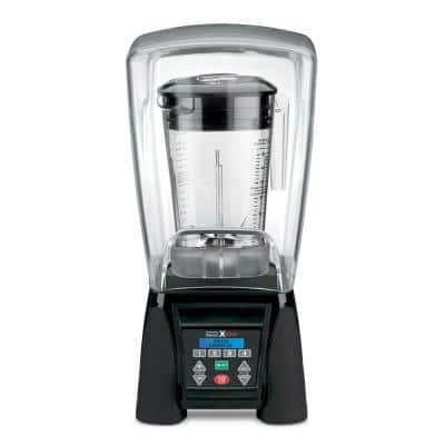 Xtreme 48 oz. 10-Speed Clear Blender with 3.5 HP, LCD Display, Programmable and Sound Enclosure