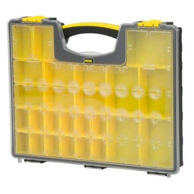 25-Compartment Shallow Pro Small Parts Organizer