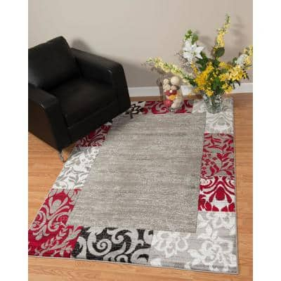 Scarlet Area Rugs Rugs The Home Depot