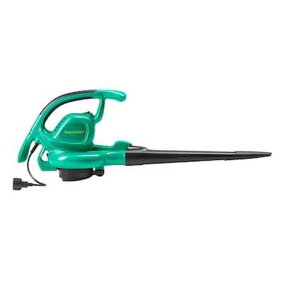 WE12B 200 MPH 360 CFM 12.5 Amp Corded Electric Handheld Leaf Blower