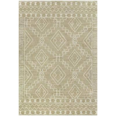 Jerde Tan 8 ft. x 10 ft. Moroccan Area Rug
