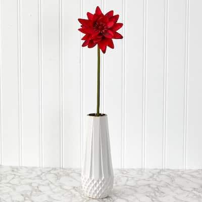 28 in. Lotus Artificial Flower (Set of 4)