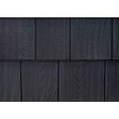 8-1/2 in. x 60-3/4 in. Rustic Slate Engineered Rigid PVC Shingle Panel 7.5 in. Exposure (32 per Box)