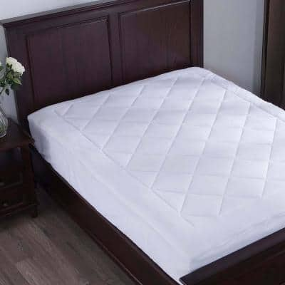 Puredown 15 in. Full Polyester Mattress Pad
