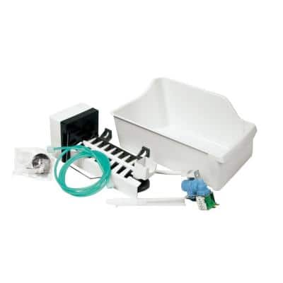 Universal Top Mount Refrigerator Ice Maker Kit