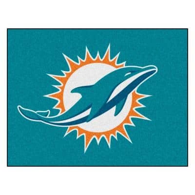 NFL - Miami Dolphins Rug - 34 in. x 42.5 in.