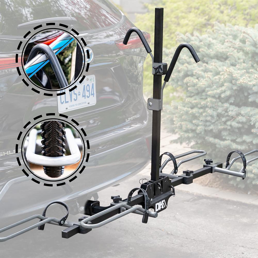 2-Bike Hitch Bike Rack