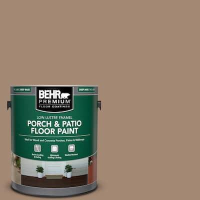 1 gal. #PFC-19 Pyramid Low-Lustre Enamel Interior/Exterior Porch and Patio Floor Paint